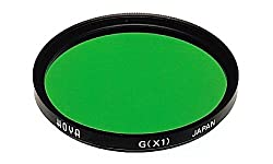 Hoya 46mm X1 Green Multi Coated Glass Filter.