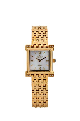 Oskar Emil Toledo Luxury Women'S Diamond Set Silver Dress Watch