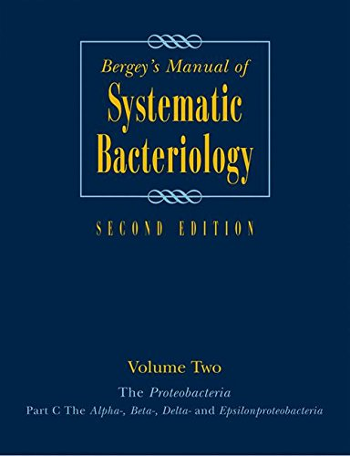 Bergey's Manual® of Systematic Bacteriology: Volume 2: The Proteobacteria, Part B: The Gammaproteobacteria (Bergey's Manual of Systematic Bacteriology (Springer-Verlag))