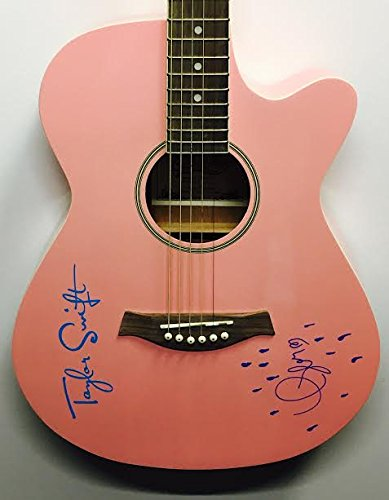 TAYLOR SWIFT Signed Autograph Copley Acoustic Guitar COA (Autograph Taylor Signed)
