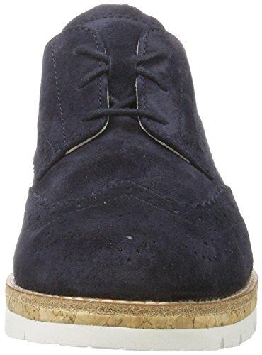 Gabor Damen Comfortabele Sneaker Blau (oceaan (kork) 46)