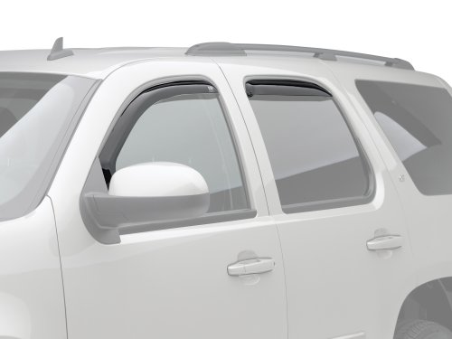 EGR 571801 In-Channel Slimline WindowVisor – 4 Piece