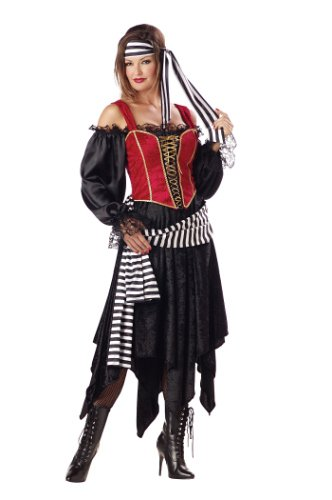 [Pirate Lady - Premier Collection by InCharacter - Adult Costume - Size Small] (Ladies Pirates Costumes)