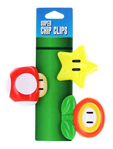 (Mario Brothers Chip Clips)