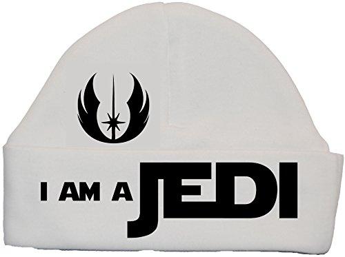 a A 0 Sombrero Jedi 12 meses Blanco Sombrero Baby de Bonnet I'm qx0TdX8q