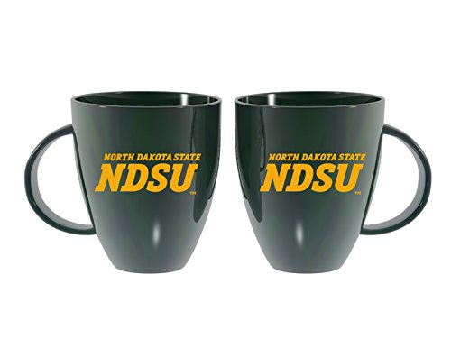 Team Sports (Team Sports America North Dakota State University Dark Green Lustre Bistro Coffee Mug, 18 ounces)