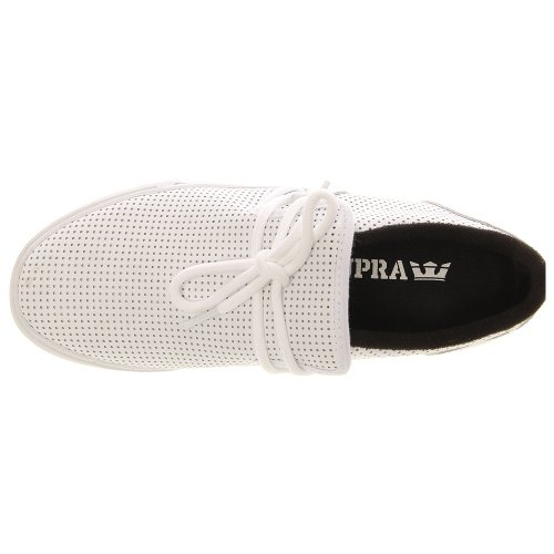 SUPRA CUBAN WHITE-BLACK-WHITE