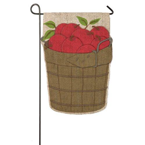 Flag Apple Basket - Gifted Living 14B3056 Apple Basket Garden Flag