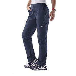 UNITOP Women's Quick Dry Water Resistant Cargo Pants UT612701020S Blue S