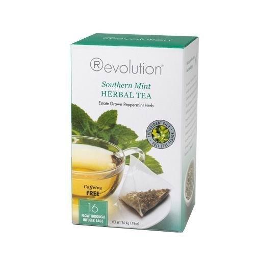 Revolution Tea Southern Mint Herbal Tea, 16 (Revolution Mint)