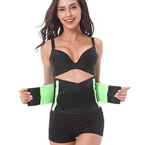 8b82e5fe7a Adjustable Back Support Belt for Women - Abdominal Elastic Waist Ab Cincher  Trainer Trimmer - Neoprene