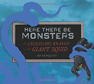 There Be Monsters Book