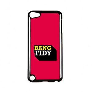 Bang Tidy Carcasa Protectora Snap-On en Plastico Negro para Apple® iPod Touch 5th Gen de Chargrilled + Se incluye un protector de pantalla transparente GRATIS