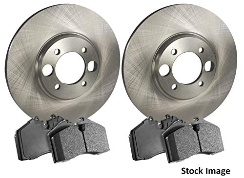 1989 For Chevrolet S10 Blazer Front Disc Brake Rotors and Ceramic Brake Pads With One Year Warranty (Note: 4WD)