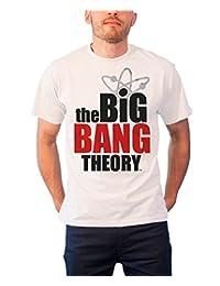 The Big Bang Theory T Shirt Logo new Official Mens White