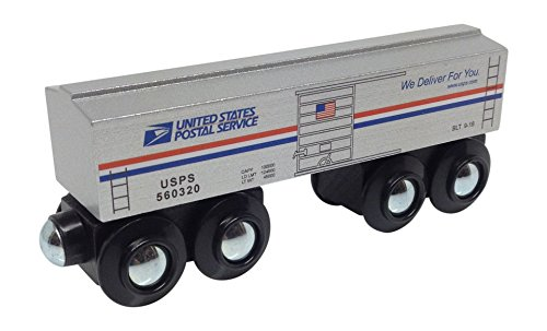 Choo Choo Track & Toy Co. U.S. Mail Boxcar magnetic wooden train