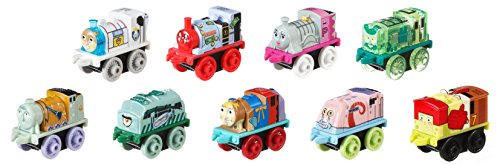 Fisher-Price Thomas & Friends MINIS, SpongeBob Square Pants (9-Pack)
