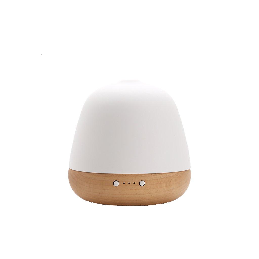 固体木材大容量家庭用加湿器ベッドルーム静かな空気浄化オフィスミニ創造的なアロマセラピー   B07DDMRSMF