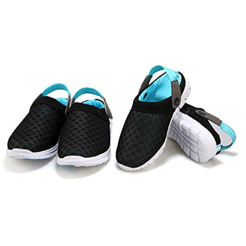 Sandals Casual Parejas Malla Unisex Blue Out Summer Shoes Hollow Summer transpirable Ouneed Beach Sandals PvEcOUng