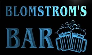 w058146-b BLOMSTROM Name Home Bar Pub Beer Mugs Cheers Neon Light Sign
