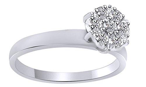 Diamond 14k Gold Estate Ring - 7