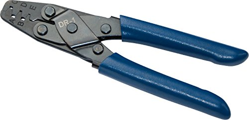 Amp Tyco Crimp - HAPDUX Automotive Terminal Crimp Wiring Harness Terminals Crimping Tool Style Plier DR-1 Crimper Plier Tool for Molex Style DELPHI AMP TYCO Terminals Crimper Open Barrel 24-14 AWG