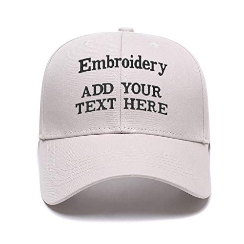 Custom Embroidered Baseball Caps Ponytail Messy High Bun Hat Ponycaps Adjustable Mesh Trucker Hats Beige