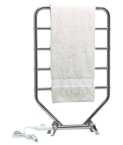 - Warmrails Heatra Traditional Towel Warmer and Drying Rack, Satin Nickel