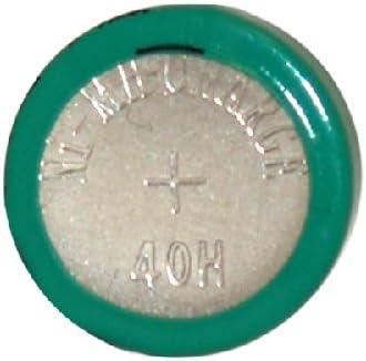 40H 1.2 Volt NiMH Button Cell Battery (H40)