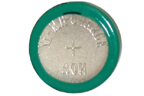 - 8 x 40H 1.2 Volt NiMH Button Cell Batteries (H40)