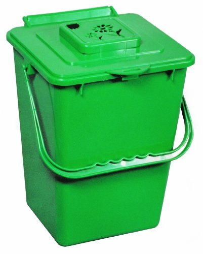 Exaco ECO-2000 2.4 Gallon Kitchen Compost Waste Collector (Compost Bins Kitchen compare prices)