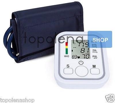 Medidor de presión automático de brazo Tensiómetro aritmia 598