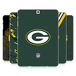 Official NFL Green Bay Packers Logo Hard Back Case for Samsung Galaxy Tab S2 9.7 from Head Case Designs