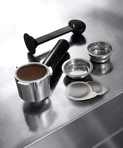 De'Longhi Dedica EC685.M Macchina da Caffè Espresso Manuale e Cappuccino, Caffè in Polvere o in Cialde E.S.E., 1350 W… 4