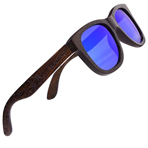 Hand Made Sunglasses - Bamboo Sunglasses with Polarized lenses-Handmade Floating