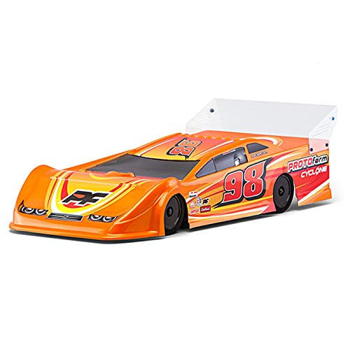 PROLINE 123421 Cyclone 9.5 Clear Body Dirt Oval Late Model