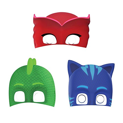 Costumes And Party Supplies (PJ Masks Paper Masks (8 ct))