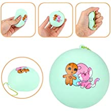 Gocheaper Squishy Toy,Bread Pendant Scented Charm Slow Rising Collection Squeeze Stress Reliever Toys (Green)