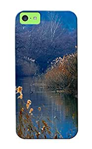 Graceyou Brand New Defender Case For ipod touch4 (duck Lake Wood Reeds Mountains Autumn ) / Christmas's Gift