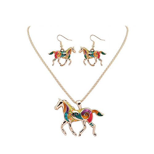 Horse Charm Necklace - 3