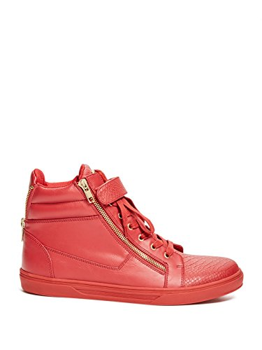Deviner Usine Mens Migos Haut-bas Sneakers Rouge
