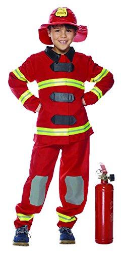 Rubies Intex - it30154-l disfraz para niños trabajo Como Bomberos e2e832ab87f