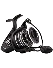 Penn Pursuit III 6000C Spinning Fishing Reel, Black/Silver, 6000