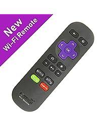 Amaz247 Point Anywhere   Mando a distancia Wi Fi con roku Stick, Stick+, Roku Premiere, Premiere+, Roku Ultra, Roku 2,3,4; Reemplaza el mando a distancia Roku Stick RC80