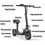 Monopattino-Elettrico-Scooter-Pieghevole-per-Adulti-Display-LCD10-inch-Motore-da-500-W-Display-LCD-E-Roller-velocit-Massima-45KmH95KmFacile-da-Piegare-E-Trasportareper-Adulti-E-Bambini
