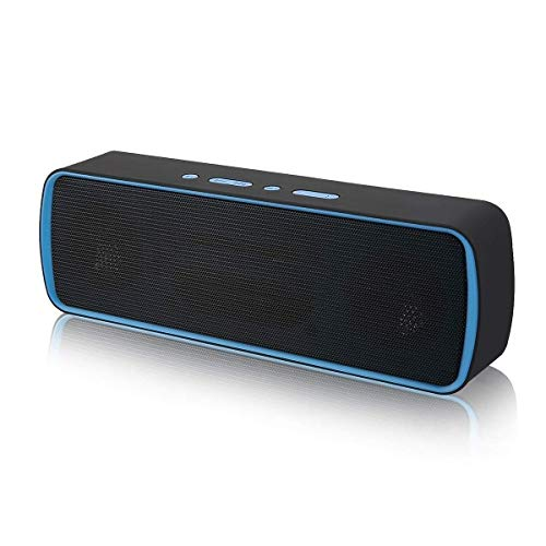 Portable Wireless Bluetooth Speakers BT4.2, Stereo Subwoofer 10W Enhanced Bass Sound, Perfect Wireless Speakers, Stereo Pairing, Durable Design, Outdoors, Travel, Home Party