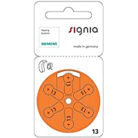 Siemens S13 Hearing Aid Battery - 60 Pieces