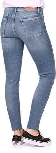 Raw Vaqueros Thermal Calvin Ankle Skinny Klein Mid Rise Thermal Mujer rz0AqX0Pn