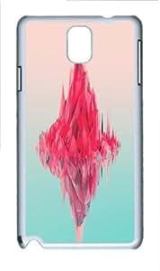 abstract digital art Custom Samsung Galaxy Note 3/Samsung Galaxy N9000 Case Cover Polycarbonate White