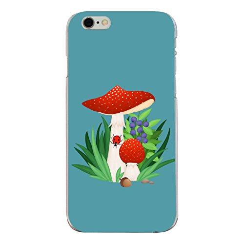 """Disagu SF-sdi-4336_1196#zub_cc6146 Design Schutzhülle für Apple iPhone 6S - Motiv """"Fliegenpilz 03"""""""